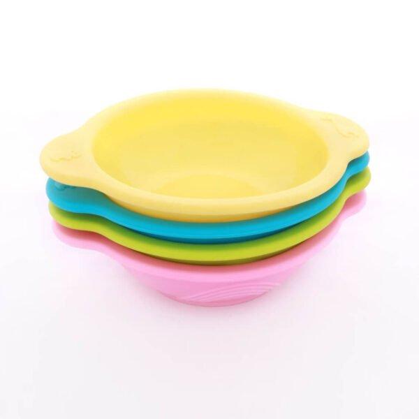 Round Feeding Silicone Bowl