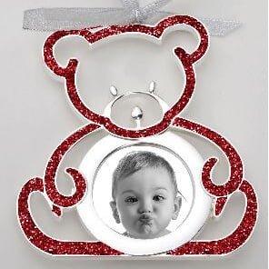 Bear Hanging Photo Ornament