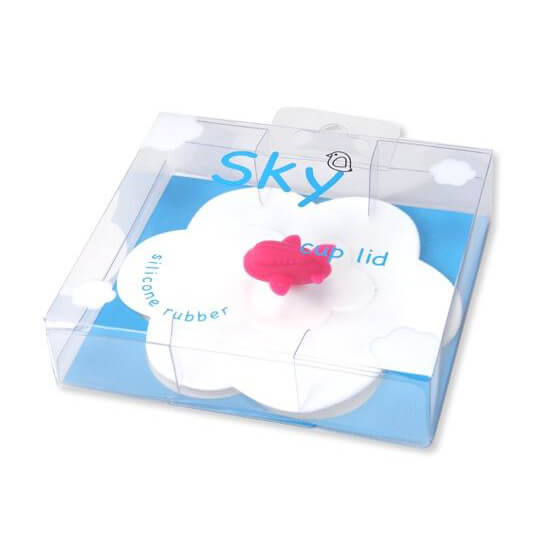 Aeroplane Suction Cup Lid