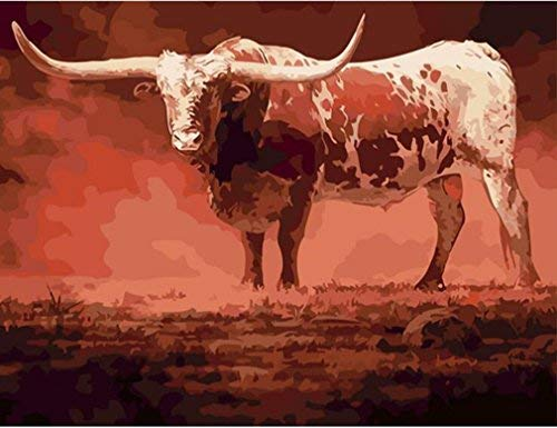 Paint By Numbers - LARGE Nguni Bull (Pre-Order)