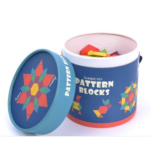 Pattern Blocks - 250 PCS