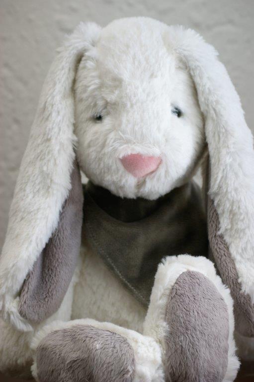 30cm White Bunny