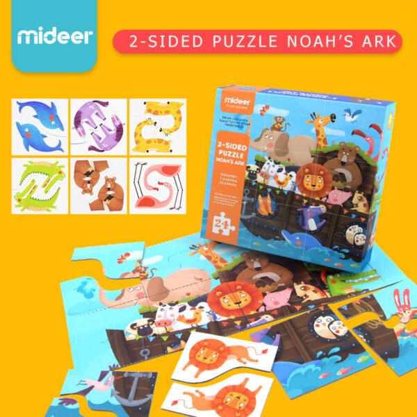 Noah's Ark - 2 Sided Puzzle