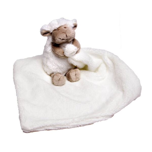 White Chubby Sheep Cuddle Blanket