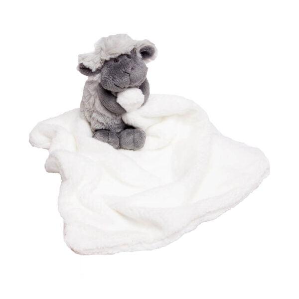 Grey Chubby Sheep Cuddle Blanket