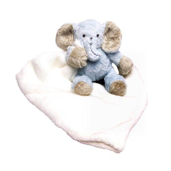 Blue Ellie Cuddle Blanket
