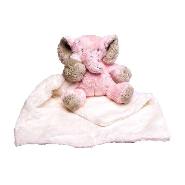 Pink Ellie Cuddle Blanket