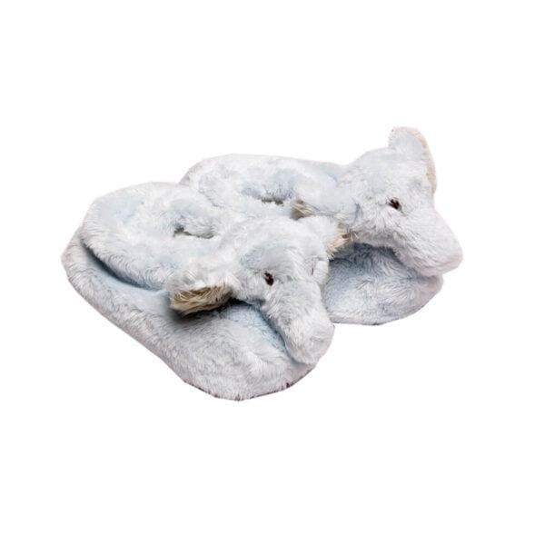 Blue Ellie Slippers