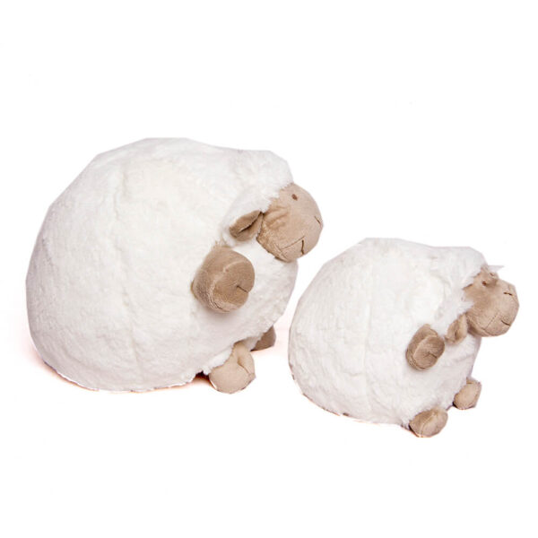 White Chubby Sheep 30cm
