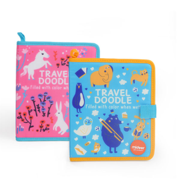 Travel Doodle - Pink