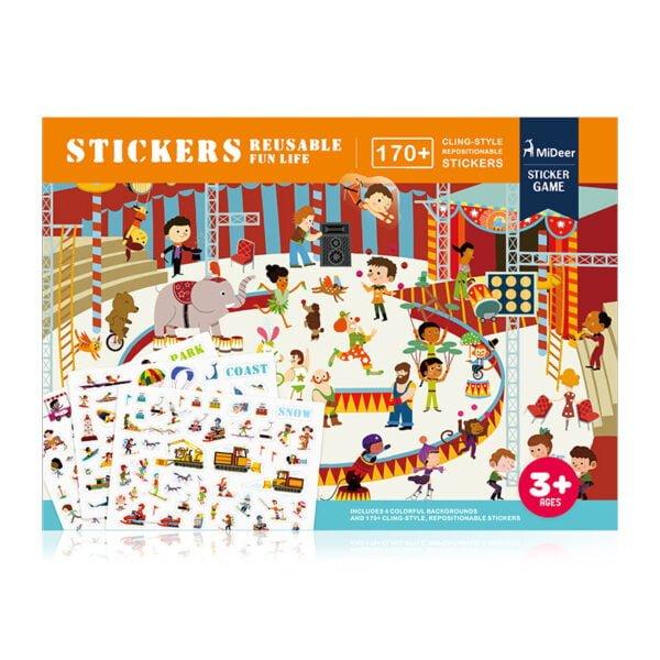 Reusable Stickers - Fun Life