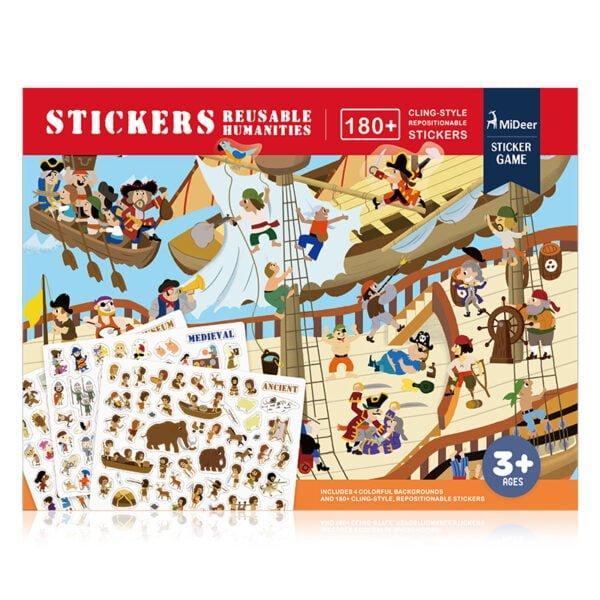 Reusable Stickers - Humanities