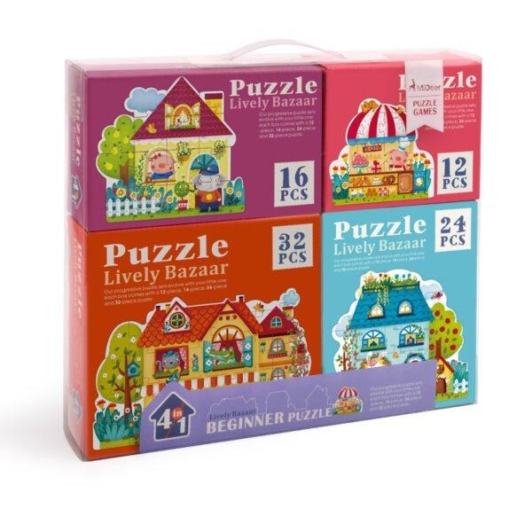 Beginner Puzzle - Lively Bazaar