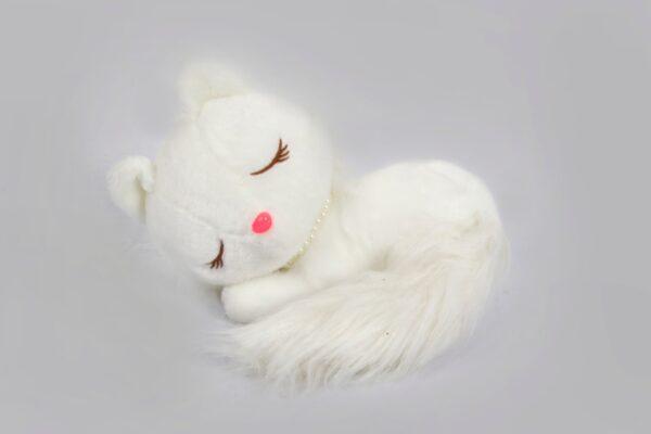 Sleepy Kitten Plush Toy
