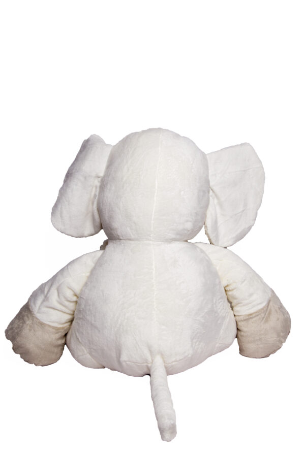 White Ellie Plush 20cm