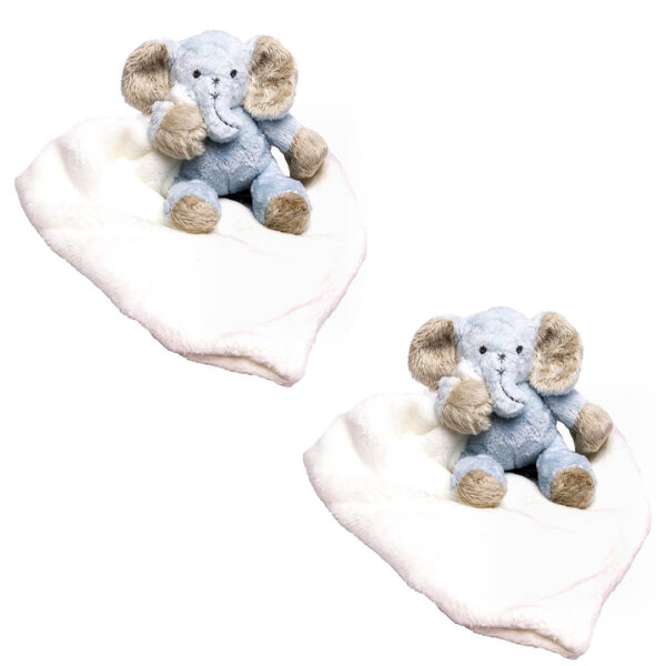 Blue Ellie Cuddle Blankets Bundle