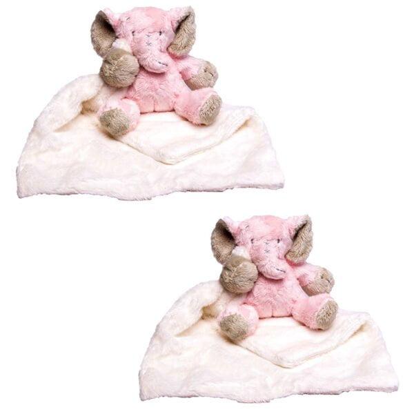 Pink Ellie Cuddle Blankets Bundle