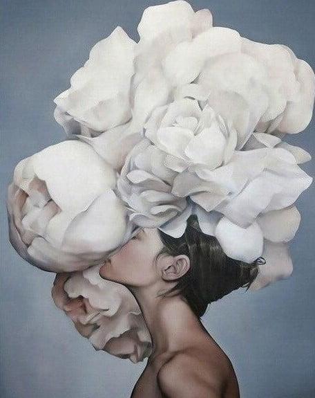 Paint By Numbers - Flower Girl 3 (Pre-Order)