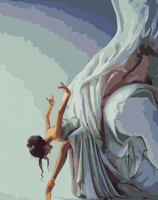Paint By Numbers - Modern Dancer (Pre-Order)