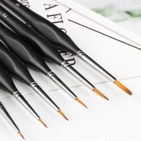 Fine Paint Brushes Set