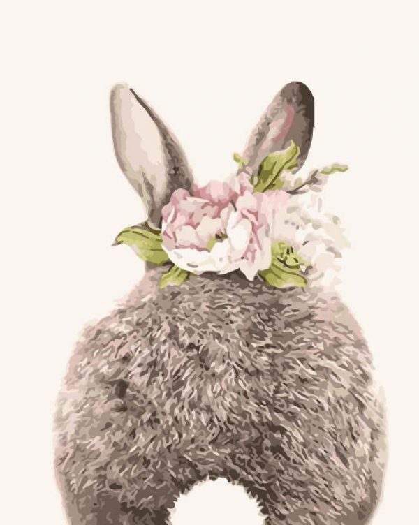 Paint By Numbers - Crown Bunny Tail