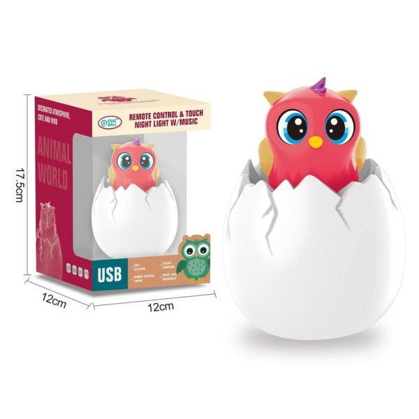 Egg Night Light - Owl