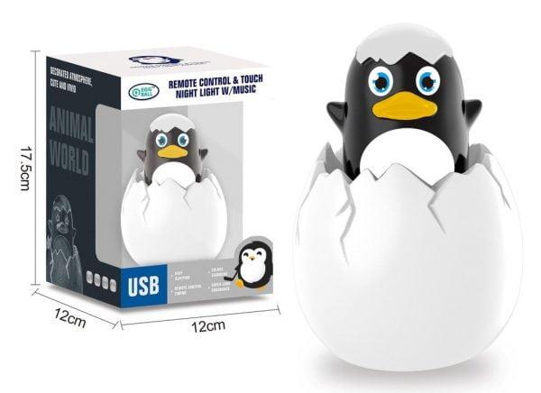 Egg Night Light - Penguin