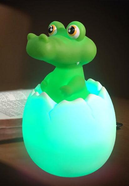 Egg Night Light - Crocodile
