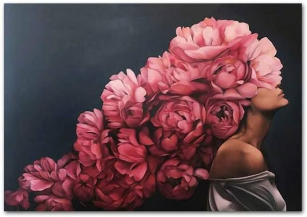 Paint By Numbers - LARGE Flower Girl 8 (Pre-Order)