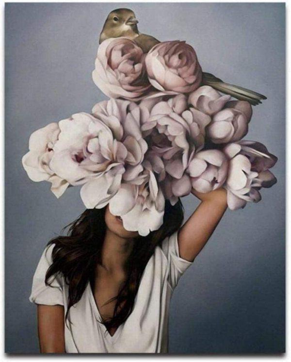 Paint By Numbers - Flower Girl 7 (Pre-Order)