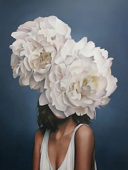 Paint By Numbers - LARGE Flower Girl 9